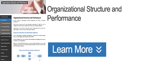 Click for Organizational Structure and Performance