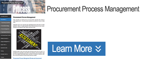 Click for Information on Procurement Process Management