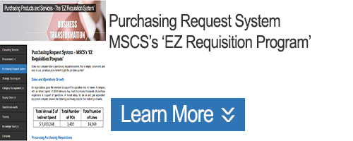Click for Purchasing Requisitions System: The Digital 'EZ Requisition Program'