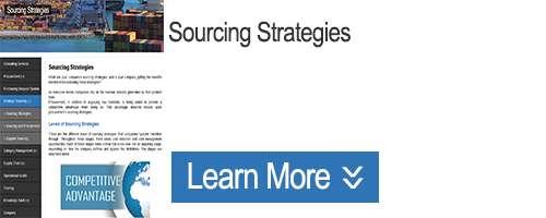 Click for Information on Sourcing Strategies