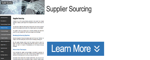 Click for Information on Supplier Sourcing