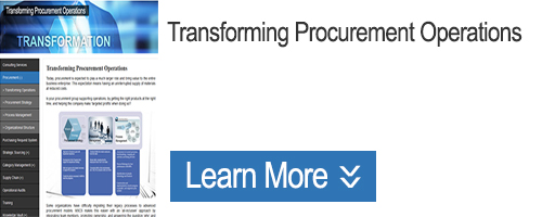 Click for Information on Transforming Procurement Operations